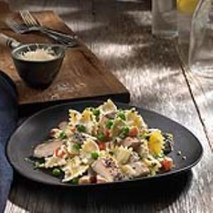 Johnsonville® Flame Grilled Lemon Chicken Pasta Recipe