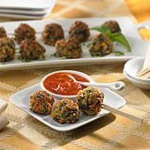 Johnsonville® Mild Italian Sausage Cheese Balls Recipe