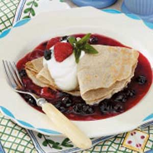 Buckwheat Brunch Crepes