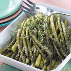 Roasted Asparagus With Thyme Recipe