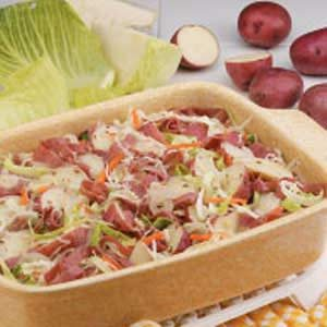 Corned Beef Potato Dinner Recipe