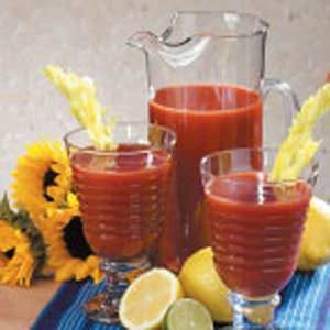 Spiced Tomato Juice Recipe