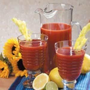 Spiced Tomato Juice Recipe