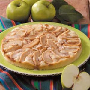 Almond-Apple Coffee Cake Recipe