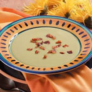 Creamy Split Pea Soup Recipe