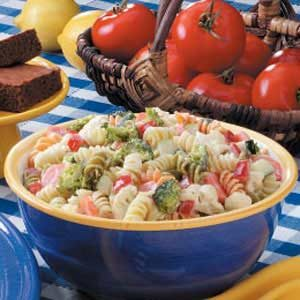 Pasta Vegetable Salad Recipe