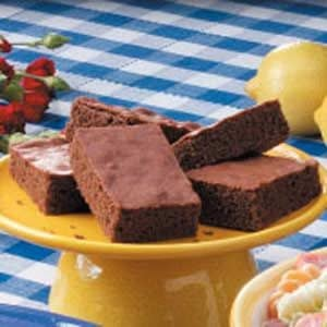 Cocoa Cake Brownies Recipe