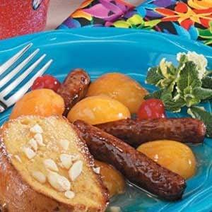 Apricot Sausage Links Recipe