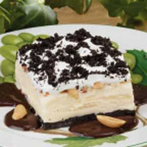 Fudgy Ice Cream Dessert Recipe