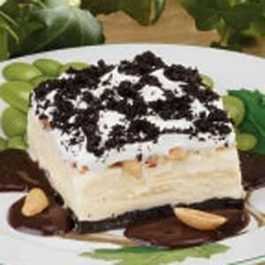 Fudgy Ice Cream Dessert Recipe