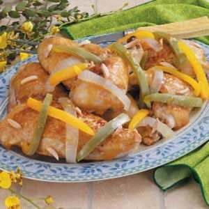 Chicken With Orange Sauce Recipe