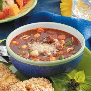 Shortcut Minestrone Recipe