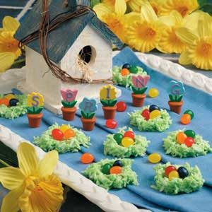 Coconut Egg Nests Recipe