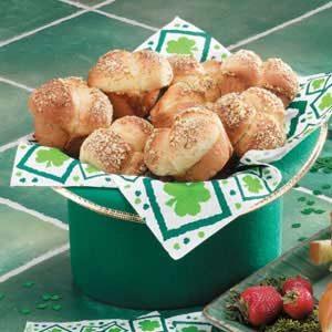 Parmesan Cloverleaf Rolls Recipe