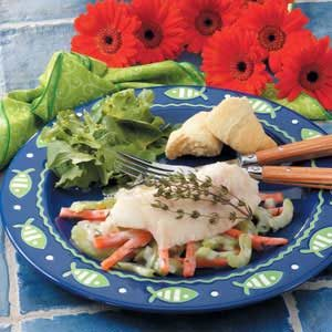 Primavera Fish Fillets Recipe