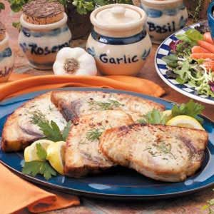 Grilled Halibut Steaks Recipe
