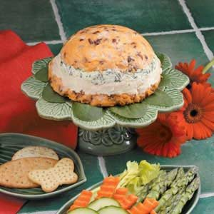 Four-Layer Cheese Spread Recipe