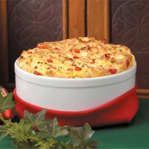 Red Pepper Cornmeal Souffle Recipe