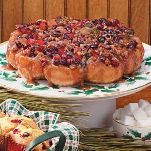 Christmas Cranberry Rolls Recipe