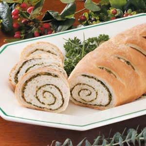 Herb Swirl Bread Recipe