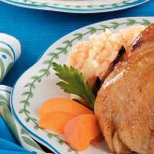 Mashed Potatoes with Carrot Recipe