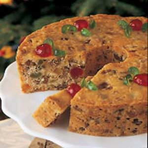 Coconut Fruitcake Recipe