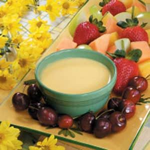 Contest-Winning Orange Fruit Dip Recipe