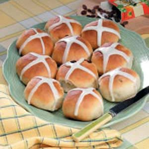 Mom's Best Hot Cross Buns Recipe