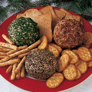 Three-in-One Cheese Ball Recipe