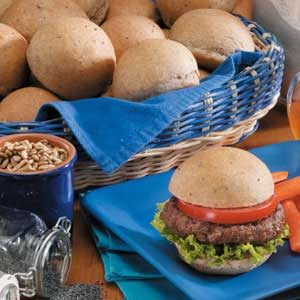 Wholesome Burger Buns Recipe
