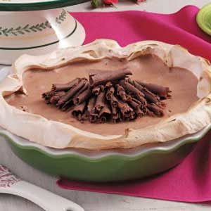 Chocolate Mocha Meringue Pie