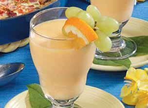Creamy Mandarin Cooler Recipe