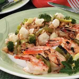 Broccoli and Cauliflower Rice Medley Recipe