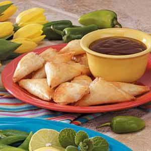Seafood Triangles Recipe