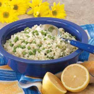 Minty Orzo and Peas Recipe