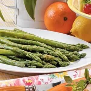 Orange-Glazed Asparagus Recipe