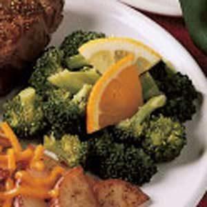 Citrus Broccoli Toss Recipe