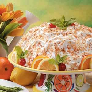 Make-Ahead Lemon Bombe Recipe
