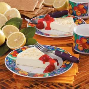 No-Bake Lemon Cheesecake Recipe