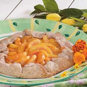 Country Peach Tart Recipe