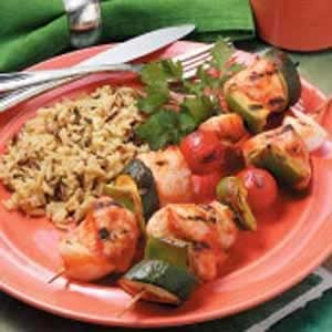 Grilled Turkey Kabobs Recipe