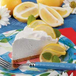 Lemon Yogurt Cream Pie Recipe