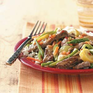 Apricot Beef Broccoli Stir-Fry Recipe