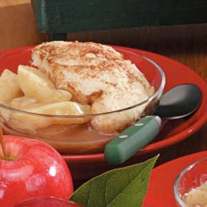 Microwave Apple Cobbler Recipe