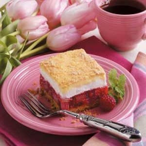 Rhubarb Icebox Dessert Recipe