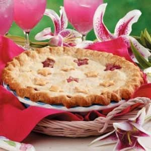 Pineapple Rhubarb Pie Recipe