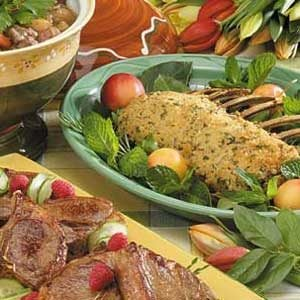 Breaded Rack of Lamb