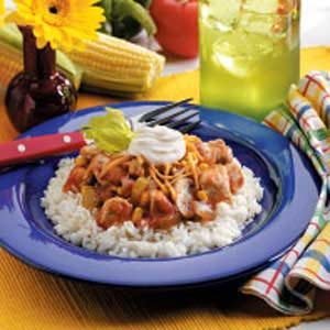 Salsa Chicken Skillet Recipe