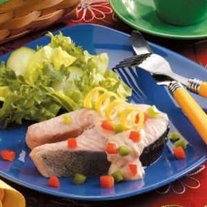 Pickled Poached Salmon Recipe