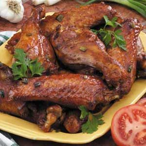 Barbecue Turkey Wings Recipe